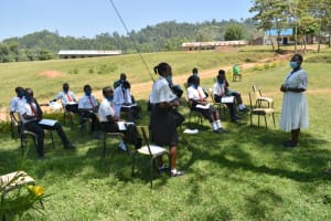 The Water Project: Friends Mixed Secondary School Lwombei -  Responding To The Training