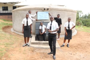 The Water Project: Friends Mixed Secondary School Lwombei -  Student Abuild Owuor Speaks For All Students In Thanks