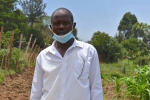 The Water Project: Isanjiro Community, Musambai Spring -  Moses Kavusia