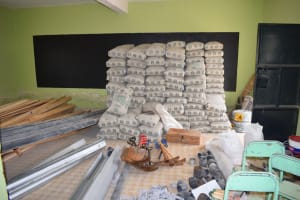The Water Project: Kalisasi Secondary School -  Cement For Tank