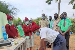 The Water Project: Kalisasi Secondary School -  Handwashing