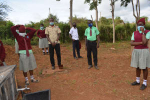 The Water Project: Kalisasi Secondary School -  Hygiene And Sanitation Training