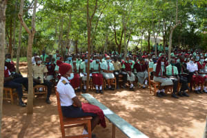 The Water Project: Kalisasi Secondary School -  Training