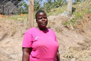 The Water Project: Elwichi Community, Mulunda Spring -  Dora Musotsi At The Spring