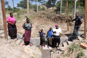 The Water Project: Elwichi Community, Mulunda Spring -  Celebrating The Spring