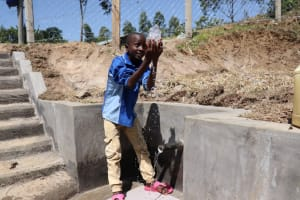 The Water Project: Elwichi Community, Mulunda Spring -  Celebration At The Spring