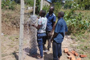 The Water Project: Elwichi Community, Mulunda Spring -  Fencing