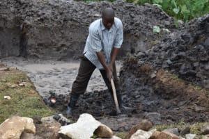 The Water Project: Isanjiro Community, Musambai Spring -  Excavation