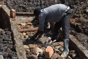 The Water Project: Isanjiro Community, Musambai Spring -  Stairs Construction