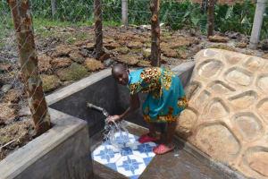 The Water Project: Isanjiro Community, Musambai Spring -  Mercy Celebrating Water