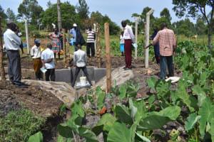 The Water Project: Isanjiro Community, Musambai Spring -  Site Management Training