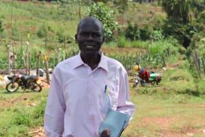 The Water Project: Isanjiro Community, Musambai Spring -  Titus Andanje
