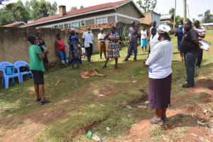 The Water Project: Isanjiro Community, Musambai Spring -  Training In Session