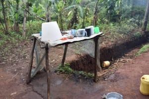 The Water Project: Bumira Community, Savai Spring -  Dishrack