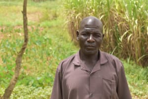 The Water Project: Mukoko Community, Zebedayo Mutsotsi Spring -  Albert Mutsotsi