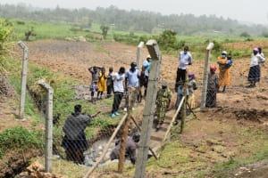 The Water Project: Mukoko Community, Zebedayo Mutsotsi Spring -  Onsite Training At The Spring