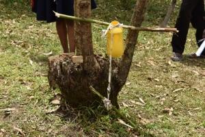 The Water Project: Mukoko Community, Zebedayo Mutsotsi Spring -  Tippy Tap