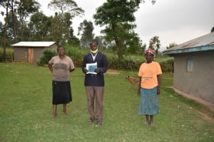The Water Project: Mukhuyu Community, Gideon Kakai Chelagat Spring -  Elected Water User Committee Leaders