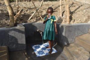 The Water Project: Mukhuyu Community, Gideon Kakai Chelagat Spring -  Faith Drinking Water