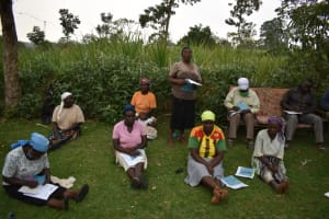 The Water Project: Mukhuyu Community, Gideon Kakai Chelagat Spring -  A Participant Responds To The Training