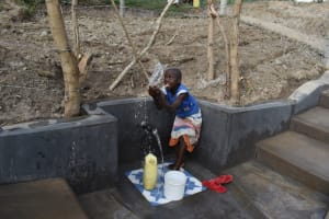 The Water Project: Mukhuyu Community, Gideon Kakai Chelagat Spring -  Making A Splash