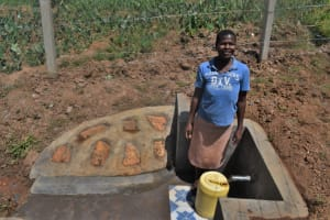 The Water Project: Shihome Community, Oloo Njinuli Spring -  Smiles At The Spring