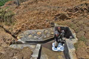 The Water Project: Shianda Commnity, Mukeya Spring -  Thomas Takes The Spotlight