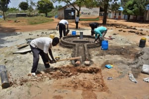 The Water Project: Ibokolo Primary School -  Soak Pit Digging