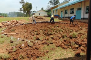 The Water Project: Gidimo Primary School -  Site Excavation