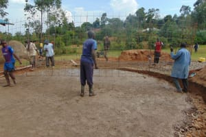 The Water Project: Gidimo Primary School -  Wire Wall Setting