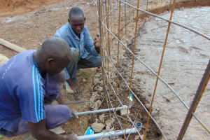 The Water Project: Gidimo Primary School -  Tap Setting