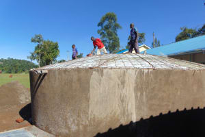 The Water Project: Gidimo Primary School -  Dome Setting