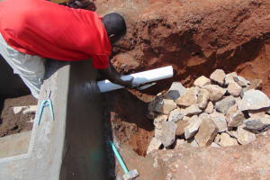 The Water Project: Gidimo Primary School -  Drawing Point Construction