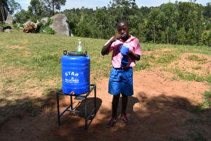 The Water Project: Gidimo Primary School -  Dental Hygiene Demonstration
