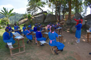 The Water Project: Gidimo Primary School -  Handwashing Demonstration