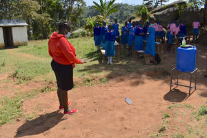 The Water Project: Gidimo Primary School -  Solar Disinfection Demonstration