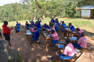 The Water Project: Gidimo Primary School -  Active Participation