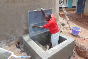 The Water Project: Gidimo Primary School -  Cover Placement