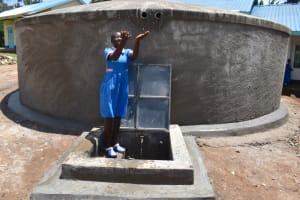The Water Project: Gidimo Primary School -  Splashing Water