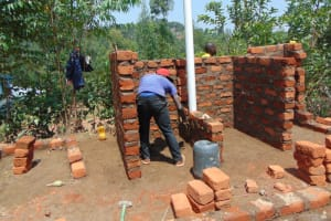 The Water Project: Gidimo Primary School -  Vip Latrine Construction