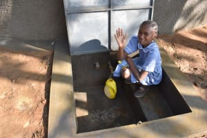 The Water Project: St. Martin's Primary School -  Diana Excited About Having Water In The School