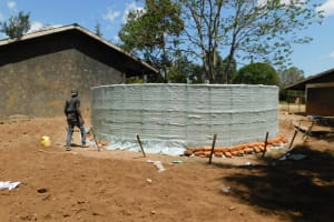 The Water Project: St. Martin's Primary School -  Sacks In Place