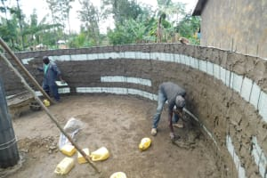The Water Project: St. Martin's Primary School -  Inside Plaster