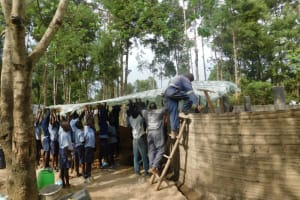 The Water Project: St. Martin's Primary School -  Dome Setting