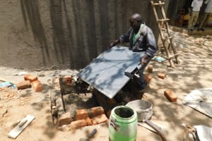 The Water Project: St. Martin's Primary School -  Drawing Area Construction