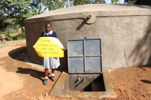 The Water Project: St. Martin's Primary School -  Linda Says Thank You