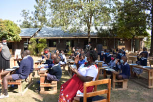 The Water Project: St. Martin's Primary School -  Contactless Greetings