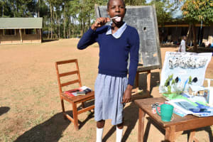The Water Project: St. Martin's Primary School -  Demonstration On Dental Hygiene