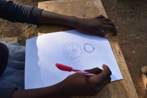 The Water Project: St. Martin's Primary School -  Drawing The Coronavirus