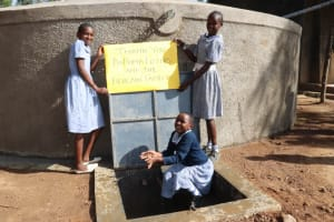 The Water Project: St. Martin's Primary School -  Making A Splash